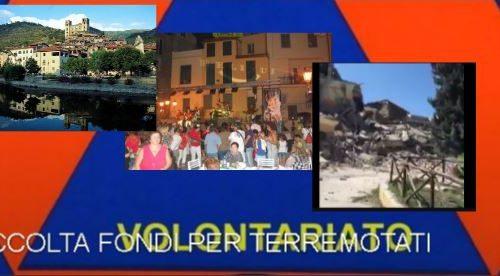 Fresciöi. Dolceacqua e protezione civile faranno una raccolta fondi per il terremoto del centro Italia.