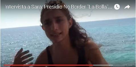 """Intervista a Sara: Presidio No Border """"La Bolla"""" Ventimiglia-Menton"""