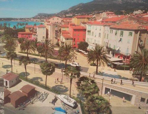 """Menton. """"FOTO"""" La promessa mantenuta. Mica come il porto di Ventimiglia.?"""