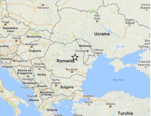 ROMANIA. Terremoto di magnitudo 5.6