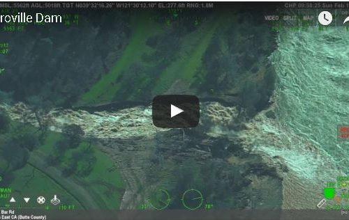 Il video della diga in California. Ecco cosa è successo.