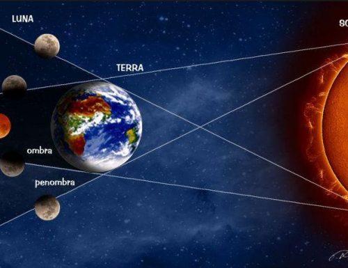 Eclissi lunare in diretta streaming..