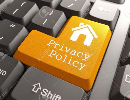Privacy Policy regolamenti dell'invio ed dei dati personali.