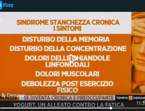 """Stanchezza cronica e Fibromialgia. Oggi nella trasmissione """"Tempo&Denaro"""" Ossigeno Ozono Terapia SIOOT."""