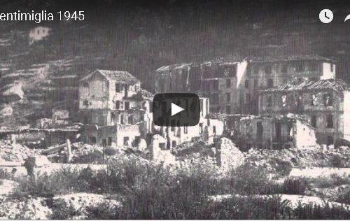 """VIDEO. Ventimiglia 1945 Guerra, occupazione, rinascita, """" Per non dimenticare"""""""