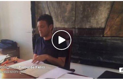Dimissioni di Pio Guidi Felici. Il video conferenza dove ne spiega le motivazioni.