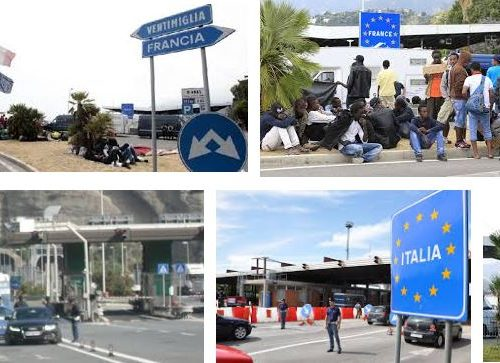 Frontiera francese aperta senza controlli. Cosa sta cambiando..?