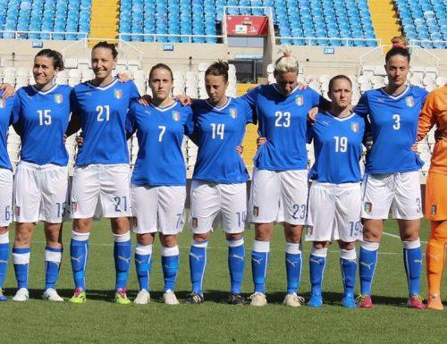 La nazionale di calcio femminile dell'Italia è prima in classifica nel gruppo 6 della sezione UEFA della qualificazioni al campionato mondiale di calcio femminile 2019.