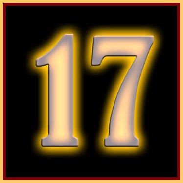 Ti appare sempre il numero 17 ovunque. Ecco il significato.