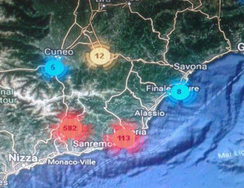 Velutina. La mappa dei nidi in tempo reale.