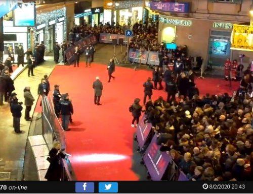live cam entrata e piazzale Ariston Sanremo 24/24H