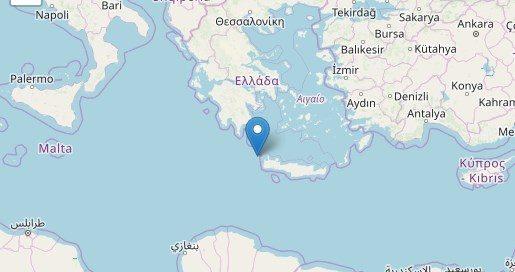 Forte scossa di terremoto in Grecia questa mattina alle 08:23
