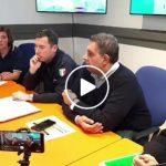 Il punto sull'allerta meteo dalla sala stampa della Protezione Civile di Regione Liguria