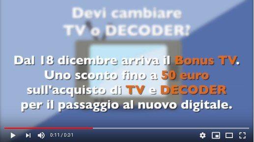 Bonus TV – Decoder di nuova generazione.