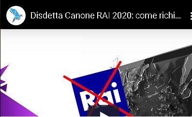 Canone Rai. Il giorno 31 Gennaio 2020 alle ore 23.59 è il termine ultimo per presentare la Dichiarazione Sostitutiva per non pagare il Canone RAI in bolletta per l'intero anno 2020.