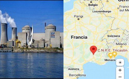 Centrale nucleare di Tricastin. Allarme perdita scorie. Chiuso reattore.