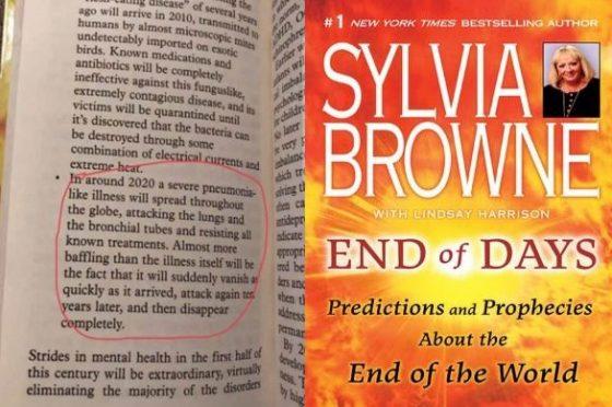 Sensitiva aveva scritto già tutto sul Coronavirus nel suo libro nel 2008