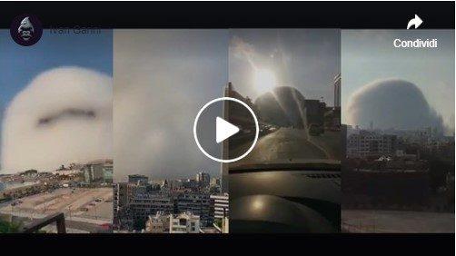 Esplosione Beirut. Tutti i video amatoriali.
