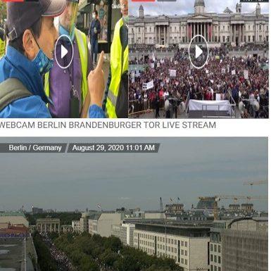 Berlino, Parigi e Londra si ribellano alle mascherine.