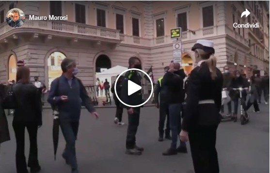 Roma. Inseguiti per non avere rispettato il senso unico pedonale imposto…