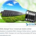 Come disdire il contratto Enel Energia online con pieno valore legale