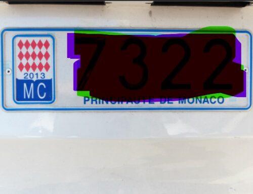 Pagano le multe le auto con targa monegasca..?