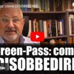 Green-Pass: come DISOBBEDIRE. Ristoratori e cittadini.