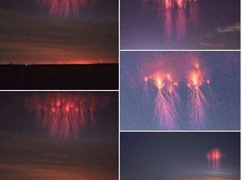 Video. Svelato il mistero delle strane luci nei cieli di mezzo mondo.
